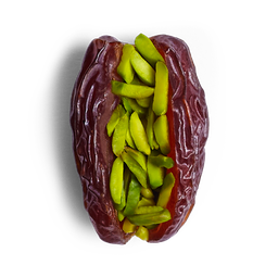 Medjool Dates with Shredded Pistachio